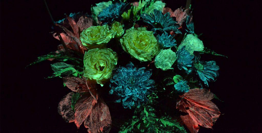 Материалы для светящихся цветов