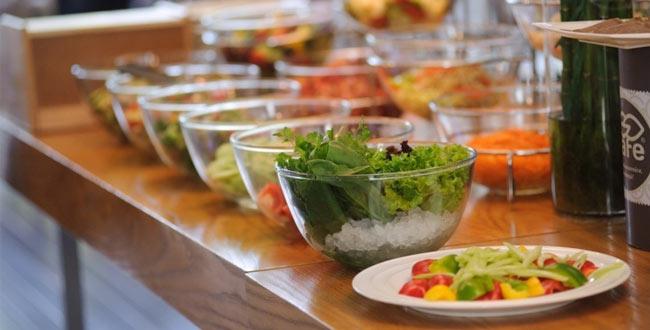Ресторан или кафе выносного типа для заботящихся о своей фигуре