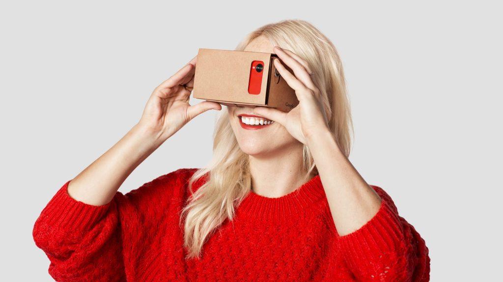 Google картон-VR бизнес-приложения