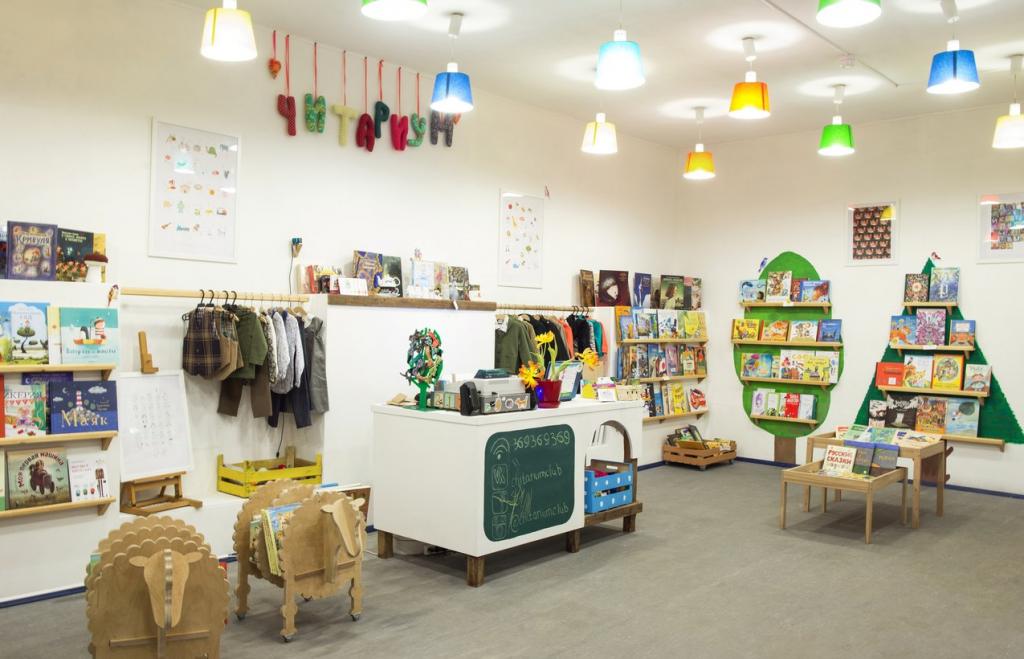 Книжный магазин для детей