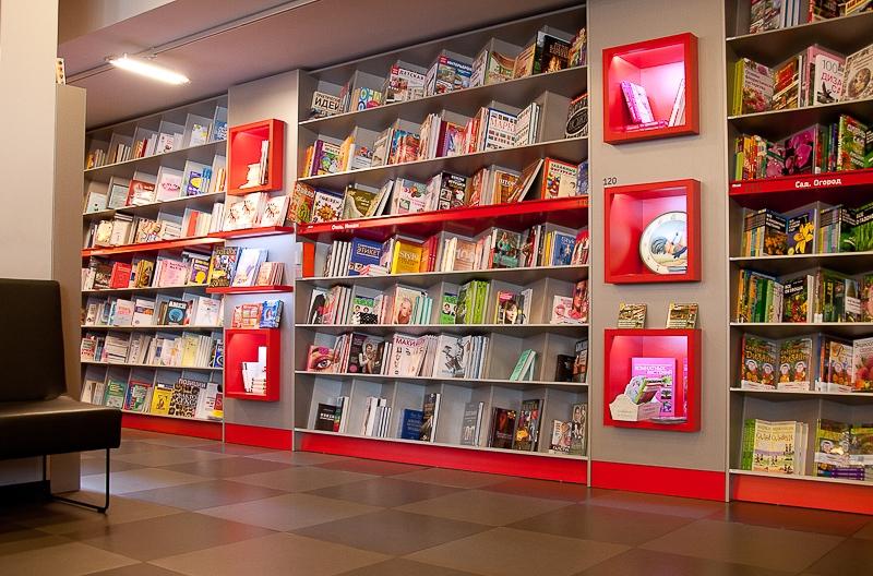 Открытие книжного магазина