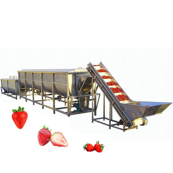 Требуемое оборудование для заморозки фруктов и овощей