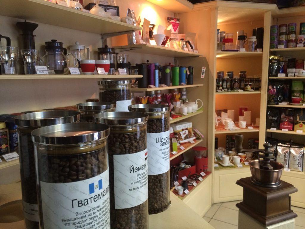 Магазин чая и холодных напитков