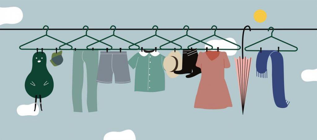 Поиск ткани и текстильный дизайн
