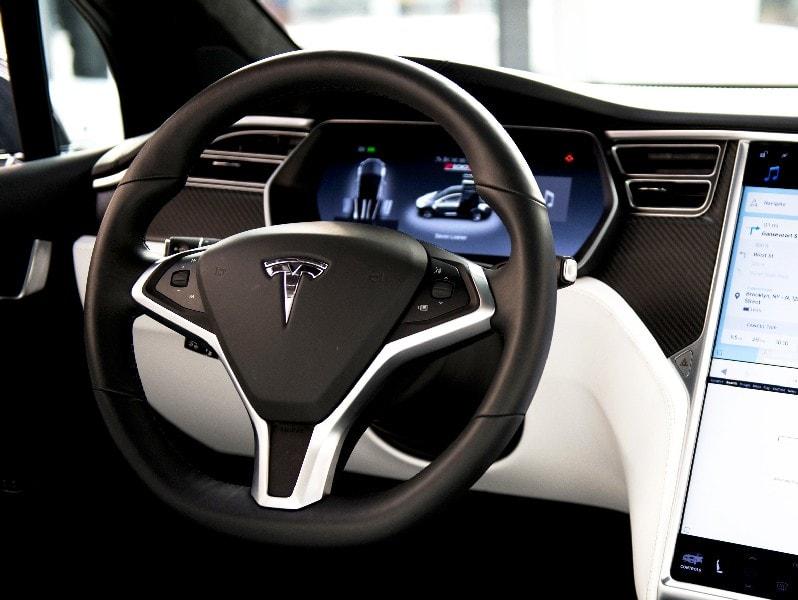 Операции, которые бизнес-модель Tesla направляет