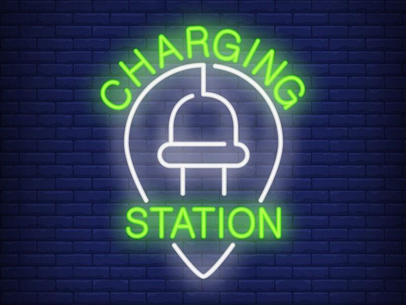 Автомобильная зарядная станция