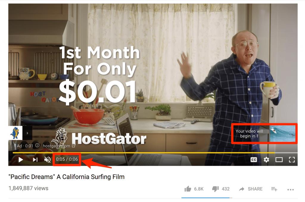 Что такое бамперная реклама на YouTube