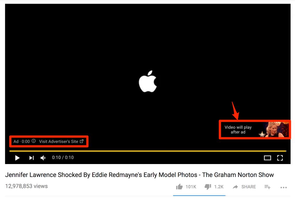 Что такое реклама In-Stream, которую нельзя пропустить на YouTube