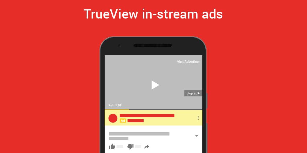 Что такое реклама TrueView YouTube