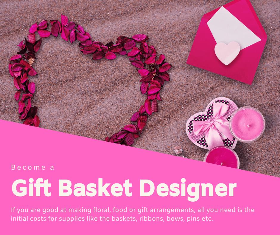 Дизайн подарочной корзины
