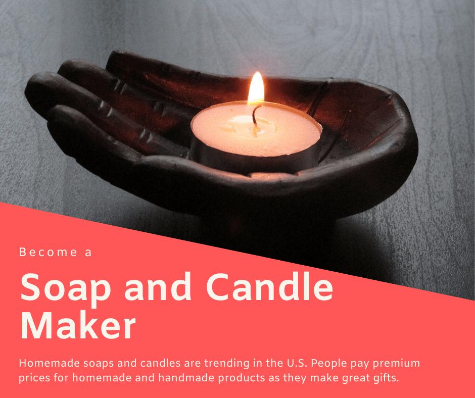 Изготовление мыла и свечей
