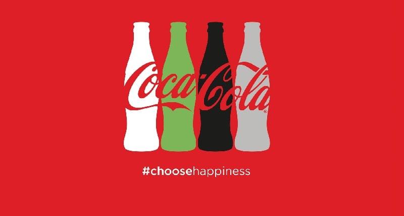Серия рекламных объявлений Coca-Cola, используемых в кампаниях Coca-Cola