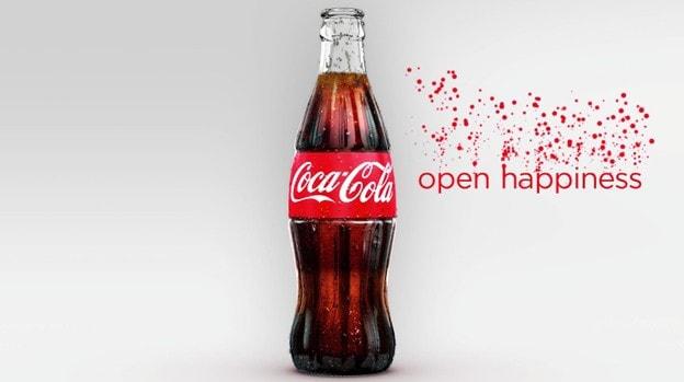 Типы средств массовой информации, используемых в рекламе Coca-Cola