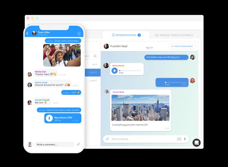 Мобильное общение сотрудников